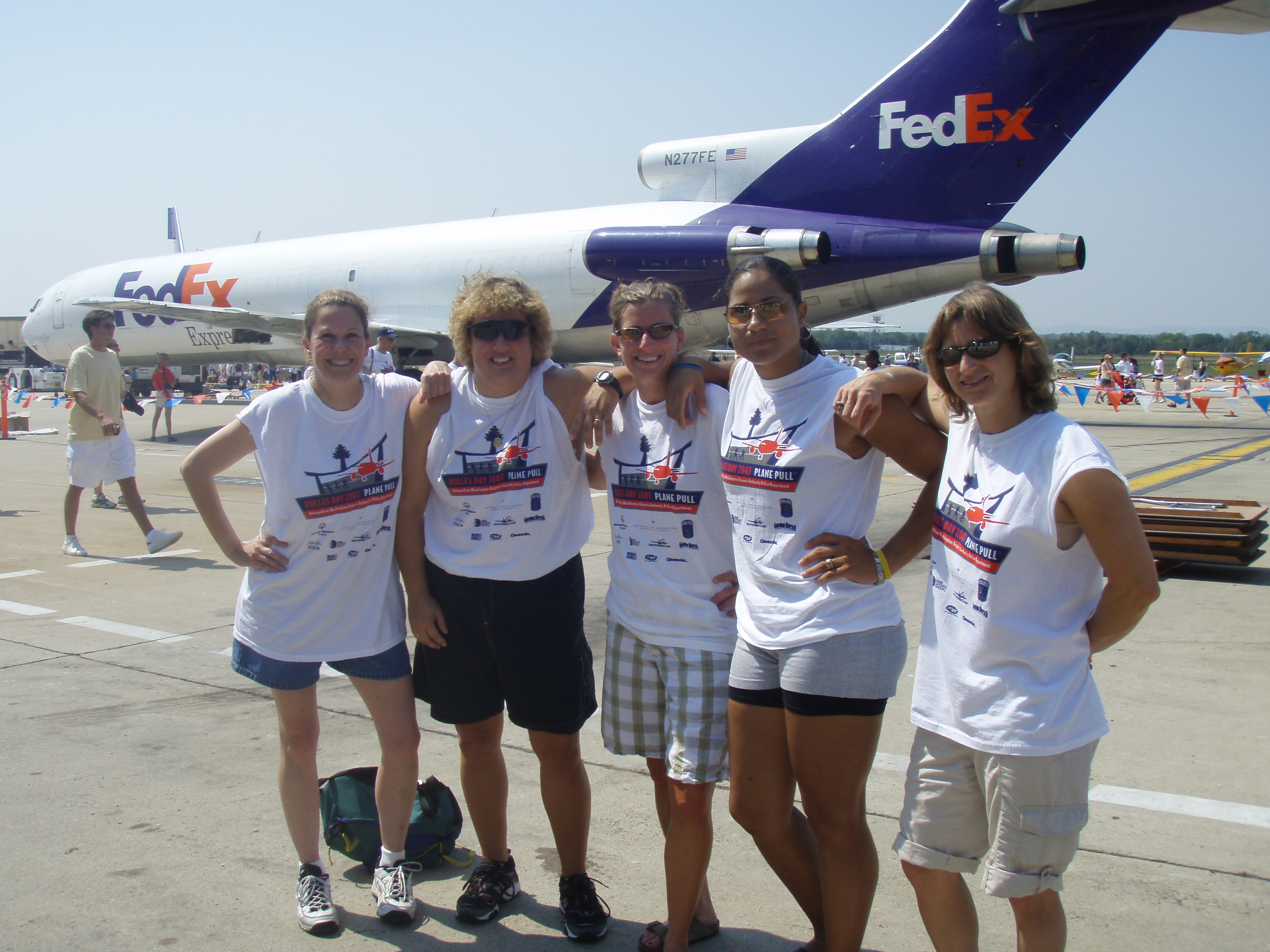 2007 Special Olympics Plane Pull