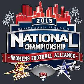 2015 Women's Football National Champions