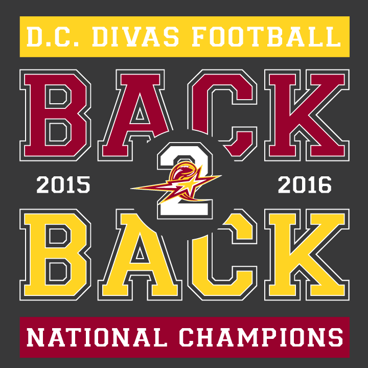 Back-To-Back Women's Football National Champions