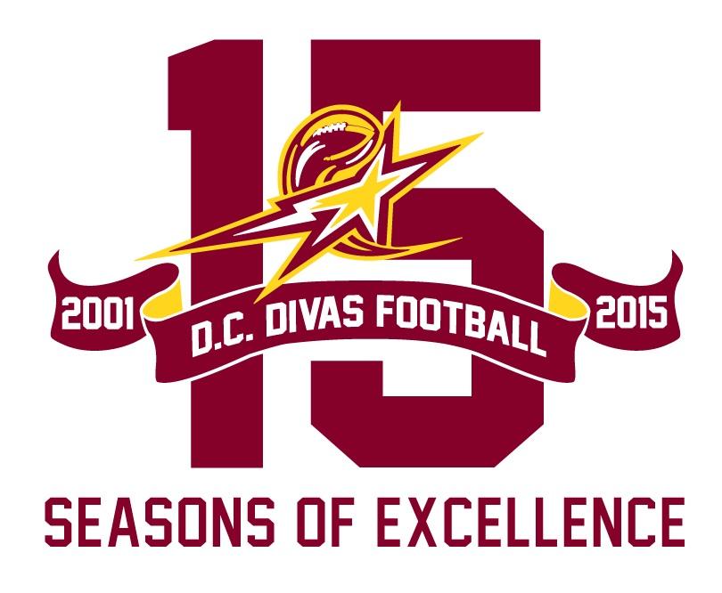 D.C. Divas 15th Anniversary Logo