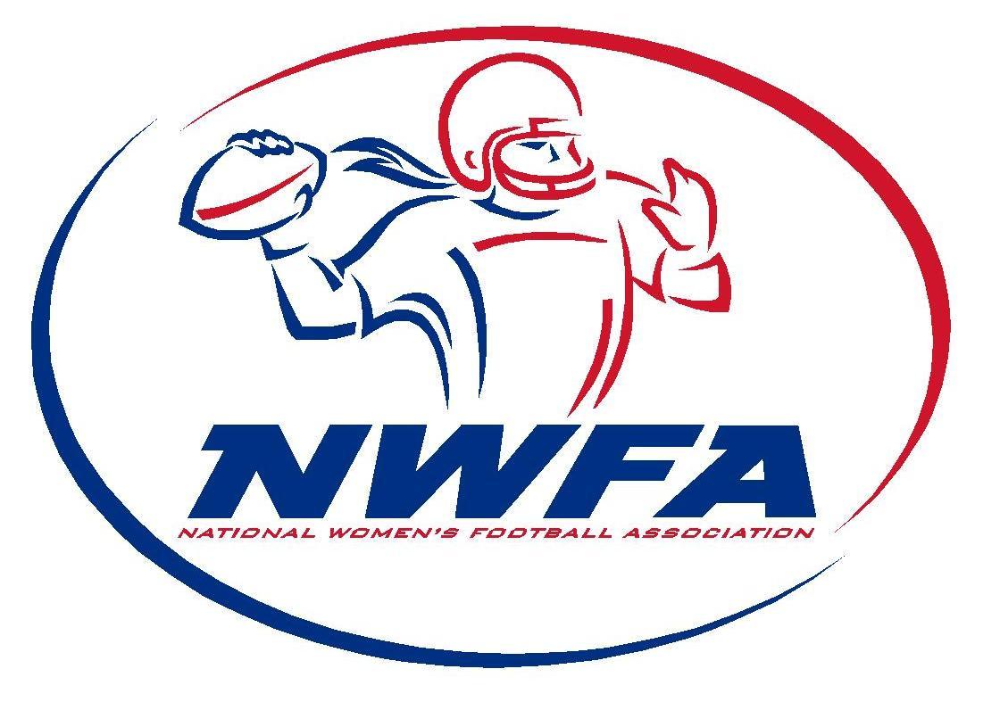 National Women's Football Association NWFA New Logo