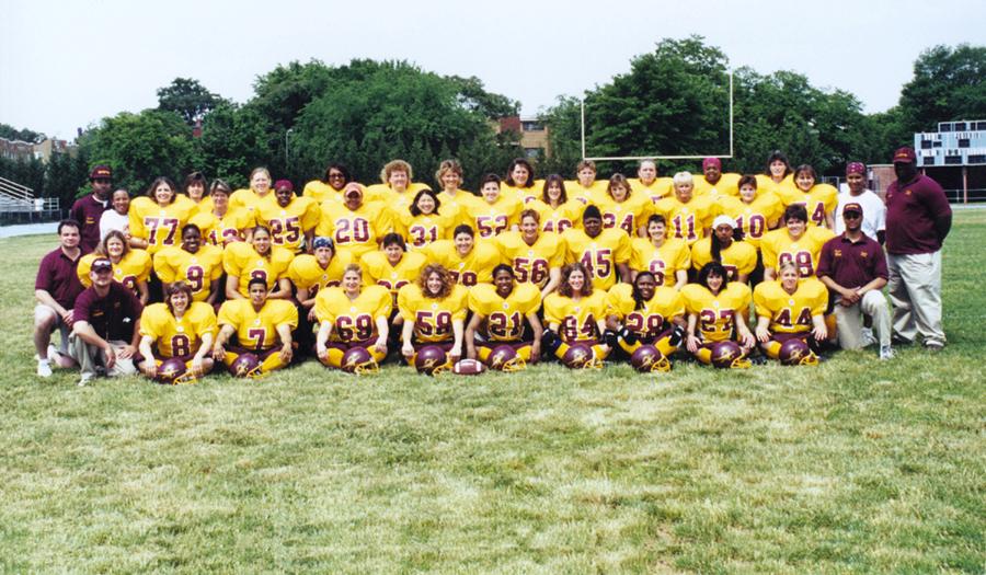 2001 D.C. Divas Roster