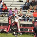 Ashley Whisonant Catch vs. Richmond